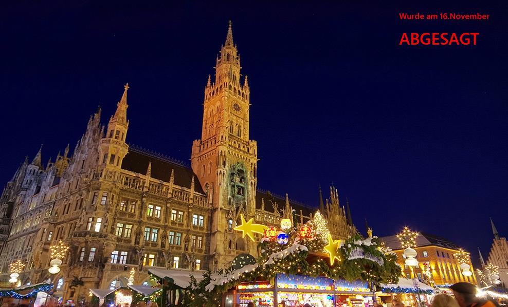 Marienplatz Weihnachtsmarkt.Christkindlmarkt München
